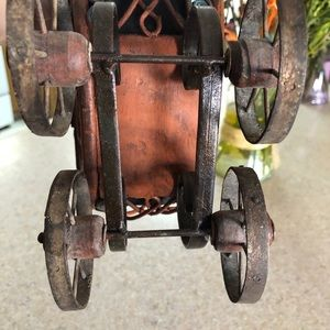 Accents - Vintage planter stroller buggy decor